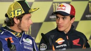 MotoGP Giappone, Rossi-Lorenzo cadono: Marquez campione del mondo