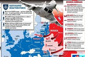 Guarda la versione ingrandita di Russia, guerra fredda contro Occidente: il piano di Putin, contromosse in Estonia e Polonia