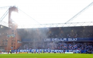 Sampdoria-Genoa 2-1, striscioni-coreografie derby Lanterna (FOTO)