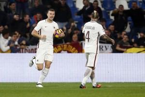 Sassuolo-Roma 1-3. Video gol highlights, foto e pagelle. Dzeko doppietta