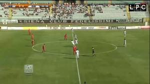 Guarda la versione ingrandita di Siena-Piacenza 2-3: highlights Sportube su Blitz