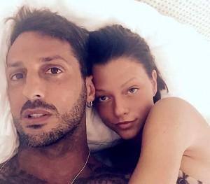 Silvia Provvedi e Fabrizio Corona (foto Instagram)