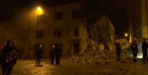 Terremoto Marche e Umbria: il diluvio dopo le forti scosse VIDEO