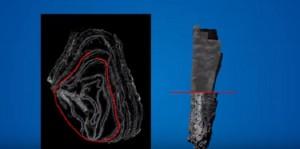 Guarda la versione ingrandita di Srotolamento virtuale: così le antiche pergamene restano intatte