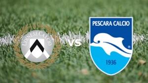 Udinese-Pescara streaming - diretta tv, dove vederla