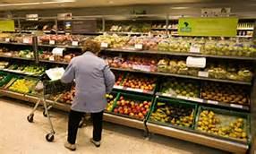 Un supermercato a Londra