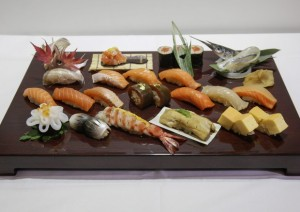 Guarda la versione ingrandita di Sushi cena a 20 euro? E' cinese con coloranti, acqua ossigenata, monossido... (foto d'archivio Ansa)