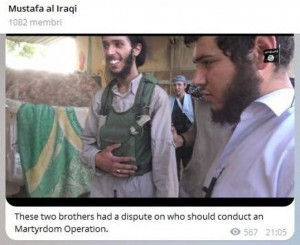 Guarda la versione ingrandita di Isis, chi sarà kamikaze? Lo si decide a testa o croce FOTO