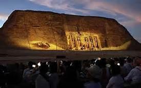 Il Sole ad Abu Simbel