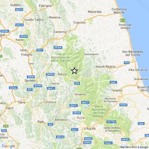 Guarda la versione ingrandita di Terremoto tra Accumuli e Arquata: magnitudo 3.4