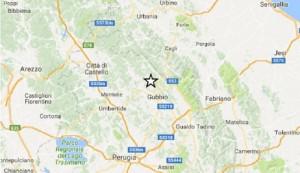 Guarda la versione ingrandita di Terremoto a Gubbio, scossa ad Amatrice: notte sismica