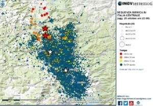 Terremoto: zone più a rischio segnalate dai satelliti