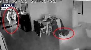 YOUTUBE Terremoto a Roma: la padrona scappa, il gatto resta fermo sul divano