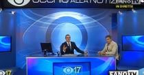 VIDEO YOUTUBE Terremoto Marche, scossa in diretta a Fano TV