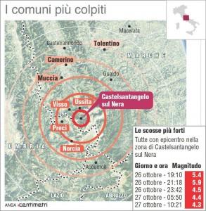 Terremoto Centro Italia, 100 scosse nella notte. 4mila sfollati, andranno in hotel