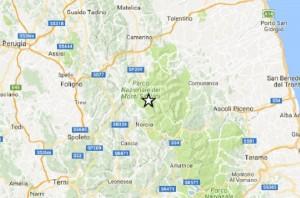 Terremoto Amatrice: scossa magnitudo 3.6 durante visita Papa Francesco