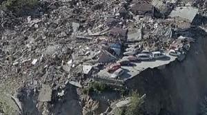 Guarda la versione ingrandita di Terremoto, suolo si è abbassato di 25 cm. Sfollati Norcia: