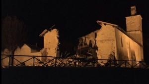 Terremoto Marche Umbria: possibile abbassamento suolo 20 cm
