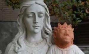 Gesù bambino, restauro horror: testa sembra scimmia o Maggie Simpson