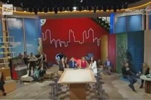 """Terremoto in diretta su Rai Uno. Timperi: """"Se volete, uscite dallo studio"""""""