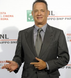 Guarda la versione ingrandita di Tom Hanks al Festival di Roma: