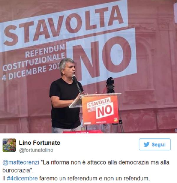 Referendum, gaffe di Nichi Vendola. E Twitter non perdona