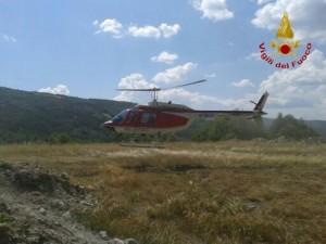 Arezzo, ultraleggero precipita in un bosco: due morti