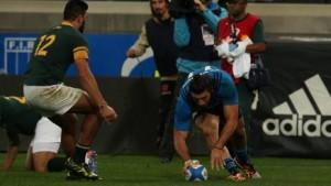 Guarda la versione ingrandita di Rugby, Italia batte Sudafrica 20-18: storica vittoria degli azzurri
