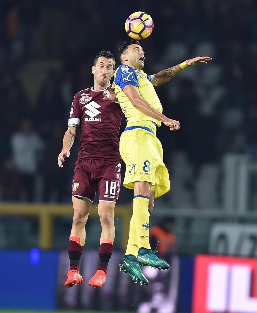 Torino - Chievo di Serie A nelle foto Ansa