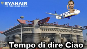 Guarda la versione ingrandita di Inter, Frank De Boer esonerato: il tweet di Ryanair