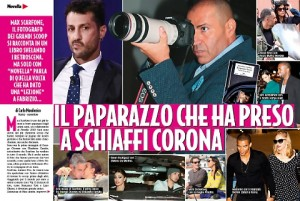 """Max Scarfone: """"Presi a pugni Fabrizio Corona e mi diede 15mila euro"""""""