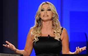 """Paola Ferrari: """"Donald Trump un perfetto gentiluomo"""""""