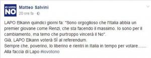 """Lapo Elkann, Matteo Salvini lo sfotte: """"Vota Sì? Sempre se fa in tempo a tornare..."""""""