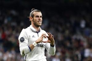 Legia Varsavia-Real Madrid, Gareth Bale nella foto Ansa