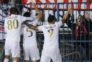 Guarda la versione ingrandita di Empoli - Roma di Serie A nelle foto Ansa