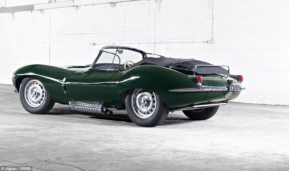 Jaguar XKSS, la supercar del '57 torna in vita 05