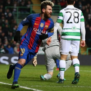 Guarda la versione ingrandita di Celtic-Barcellona 0-2, video gol highlights Champions League (Ansa)