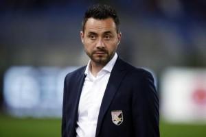 Roberto De Zerbi esonerato dal Palermo: è il 4° stagionale in Serie A
