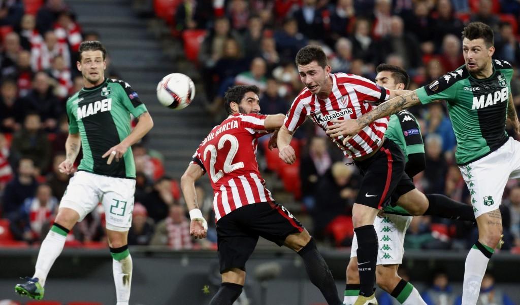Athletic Bilbao - Sassuolo 3-2 di Europa League nelle foto Ansa