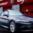 Alfa Romeo Giulia Quadrifoglio Carabinieri: le nuove FOTO in pista 03