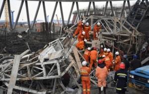 Cina, crolla piattaforma centrale elettrica in costruzione: almeno 40 morti