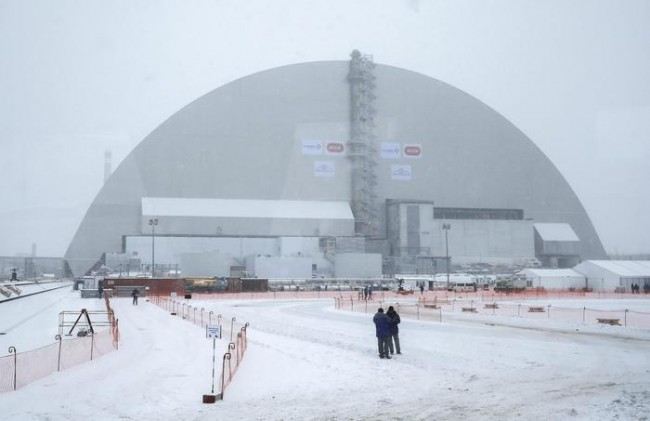 Chernobyl, ecco il mega sarcofago2