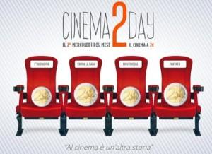 Cinema2day, mercoledì 9 novembre torna il cinema a 2 euro