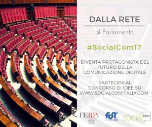Dalla rete al parlamento, il contest SocialCom