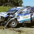 David Nalbandian, ex tennista si ribalta con la sua auto durante rally5