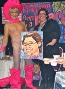 """Guarda la versione ingrandita di Dipingere e fare arte con i genitali: Pricasso, """"L'Origine du Monde"""", Milo Moirè FOTO"""
