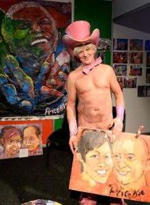 Dipingere e fare arte con i genitali: Pricasso111