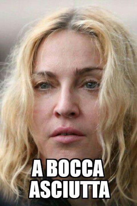 Donald Trump, FOTO sfottò Madonna A bocca asciutta2