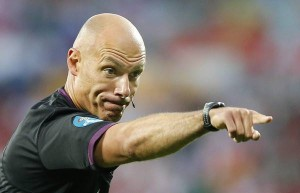 Howard Webb (foto Ansa)