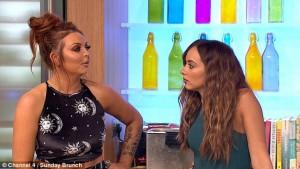 Jesy delle Little Mix ubriaca in tv dopo una notte brava